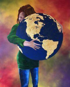 Embrace the whole world